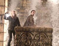 "<p>Nicolas Cage and Diane Kruger in a scene from ""National Treasure: Book of Secrets"" in an image courtesy of Walt Disney Pictures. REUTERS/Handout</p>"