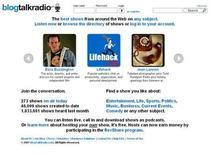 <p>A screengrab of BlogTalkRadio.com captured on December 27, 2007. REUTERS/BlogTalkRadio.com</p>