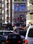 <p>Immagine d'archivio di traffico a Milano. PC</p>