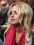 <p>Imagem de arquivo da atriz norte-americana Lindsay Lohan. O advogado da atriz Lindsay Lohan disse que ela teve uma breve recaída no álcool no ano-novo, encerrando um ano em que internou-se várias vezes em clínicas de reabilitação e foi detida por dirigir embriagada e por posse de cocaína. Photo by Lucy Nicholson</p>