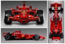 <p>La F2008. REUTERS/Ferrari/Handout.</p>