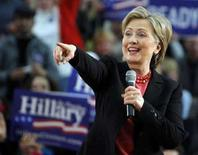 """<p>Кандидат в президенты США от Демократической партии Хилари Клинтон выступает в городе Нашуа 6 января 2008 года. Кандидат в президенты США сенатор Хилари Клинтон отметила, что у президента России Владимира Путина """"нет души"""". (REUTERS/Brian Snyder)</p>"""
