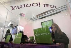 <p>Le géant de l'internet Yahoo a étendu son accord avec l'éditeur américain de cartographies numériques Navteq, qui couvre désormais les cartes de 72 pays de sa base de données. /Photo d'archives/REUTERS/Steve Marcus</p>