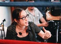 "<p>Film director Karyn Kusama is shown on the set of her film ""Girlfight"" in this undated publicity photograph. Kusama is in negotiations to direct ""Transformers"" vixen Megan Fox in ""Jennifer's Body,"" a comedic horror movie about a possessed cheerleader. 	 REUTERS/Handout</p>"