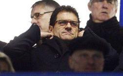 <p>L'allenatore della nazionale inglese di calcio Fabio Capello. REUTERS/Eddie Keogh (BRITAIN)</p>