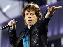 <p>Il leader dei Rolling Stones, Mick Jagger. REUTERS/Denis Balibouse (SWITZERLAND)</p>