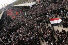<p>As forças iraquianas montaram um forte esquema de segurança neste sábado em Kerbala, onde a reunião de 2,5 milhões de peregrinos marca o clímax de um importante ritual xiita, um dia após atiradores atacarem fiéis e a polícia em outras cidades do sul do país. Photo by Ceerwan Aziz</p>