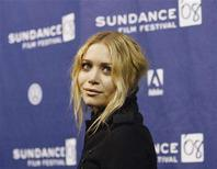 "<p>Cast member Mary-Kate Olsen attends the premiere of ""The Wackness"" during the 2008 Sundance Film Festival in Park City, Utah, January 18, 2008. REUTERS/Mario Anzuoni/Files</p>"
