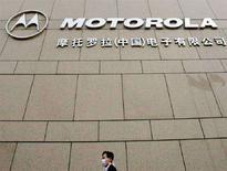 <p>La sede pechinese di Motorola. REUTERS/Guang Niu ASW/FA</p>