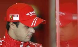 <p>Piloto da Ferrari Felipe Massa durante treino de pré-temporada no circuito de Ricardo Tormo, em Valencia, na Espanha, nesta quarta-feira. Photo by Heino Kalis</p>