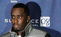 """<p>Entertainer Sean """"P Diddy"""" Combs arrives for the premiere of the film """"A Raisin In The Sun"""" during the 2008 Sundance Film Festival in Park City, Utah January 23, 2008. REUTERS/Lucas Jackson</p>"""