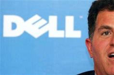 <p>Michael Dell, founder and chairman of Dell Inc., holds a news conference in Hong Kong August 18, 2006. REUTERS/Bobby Yip</p>