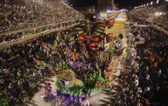 <p>A Beija-Flor ganhou o título de bicampeã do Carnaval carioca nesta quarta-feira, depois de ter sido tricampeã em 2005 e em meio à polêmica sobre suspeita de manipulação de resultados no Carnaval 2007 por parte do patrono da escola. Foto de 5 de fevereiro. Photo by Fernando Soutello</p>