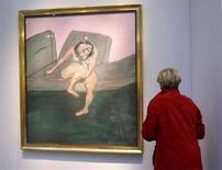 <p>Imamgine d'archivio di un quadro di Francis Bacon. REUTERS/Jacky Naegelen (FRANCE)</p>