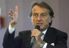 <p>Il presidente di Confindustria e di Fiat Luca Cordero di Montezemolo in una foto d'archivio. REUTERS/Arnd Wiegmann</p>