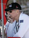 <p>Paul Newman, part owner of Newman Haas Lanigan Racing watches his cars race in the final qualifying round at the Grand Prix of Edmonton, in Edmonton, Alberta, July 21, 2007. REUTERS/Todd Korol</p>