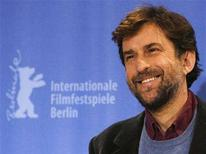 "<p>Actor Nanni Moretti poses during a photocall to present the Italian film ""Caos calmo"" (Quiet chaos) running in the competition at the 58th Berlinale International Film Festival in Berlin, February 13, 2008. The 58th Berlinale, one of the world's most prestigious film festivals, runs from February 7 to 17 in the German capital. REUTERS/Fabrizio Bensch</p>"