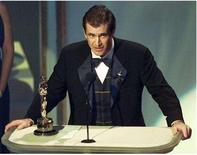 "<p>Mel Gibson accepts his Oscar for Best Director for the movie ""Braveheart"" at the 68th Academy Awards March 25. OSCARS</p>"