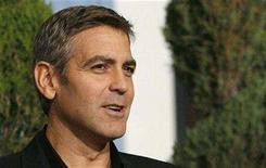 <p>Oscar nominated actor George Clooney poses at the 80th annual Academy Awards Nominee Luncheon in Beverly Hills, California February 4, 2008. REUTERS/Mario Anzuoni</p>
