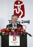 <p>Steven Spielberg speaks during a news conference announcing the creation team for the opening and closing ceremonies of the Beijing 2008 Olympic Games in Beijing in this April 16, 2006 file photo. Spielberg withdrew on February 12, 2008 as an artistic adviser to the 2008 Summer Olympics in Beijing over China's policy on the conflict in Sudan's Darfur region. REUTERS/China Daily/Files</p>