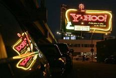 <p>L'insegna di Yahoo a San Francisco. REUTERS/Robert Galbraith (UNITED STATES)</p>