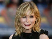 "<p>File photo shows Kirsten Dunst arriving for the British premiere of ""Spider-Man 3"" at the Odeon Cinema in Leicester Square, London April 23, 2007. REUTERS/Stephen Hird</p>"