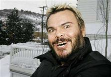 "<p>Actor Jack Black, star of the film ""Be Kind Rewind"" by director Michel Gondry, poses during a photo session at the 2008 Sundance Film Festival in Park City, Utah January 19, 2008. REUTERS/Fred Prouser</p>"
