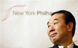 <p>North Korean Ambassador to the United Nations Pak Gil Yon appears at a news conference at Avery Fisher Hall at Lincoln Center in New York December 11, 2007, where it was announced that The New York Philharmonic had accepted an invitation by the North Korean Government to perform a concert in the capitol of Pyongyang on February, 26, 2008. REUTERS/Mike Segar</p>