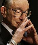 <p>L'ex presidente della Federal Reserve Alan Greenspan. REUTERS/Yuri Gripas (UNITED STATES)</p>