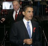 <p>O pré-candidato democrata à Presidência dos Estados Unidos, Barack Obama, garantiu no domingo a parceiros comerciais de seu país que não é contra o livre-comércio, apesar de fazer críticas cada vez mais frequentes a acordos multilaterais, como o Nafta (que envolve também México e Canadá). Photo by Pool</p>