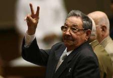 <p>Новый лидер Кубы Рауль Кастро на заседании Национальной Ассамблеи в Гаване 24 февраля 2008 года. Младший брат Фиделя Кастро Рауль стал новым лидером Кубы, возглавив Государственный совет страны вместо Фиделя, который покинул этот пост на прошлой неделе после почти полувекового пребывания у власти. (REUTERS/Prensa Latina/Pool)</p>