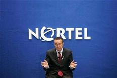 <p>Nortel President and Chief Executive Mike Zafirovski speaks during a news conference in Ottawa May 2, 2007. Nortel Networks Corp reported a bigger fourth-quarter loss on Wednesday because of a $1.1-billion tax charge and said it will slash 2,100 more jobs as it faces persistently slow demand for the telecoms equipment it makes. REUTERS/Chris Wattie</p>
