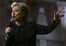 <p>Сенатор и кандидат в президенты США Хиллари Клинтон в ходе дебатов в штате Огайо, 27 февраля 2008 года. REUTERS/Shannon Stapleton</p>