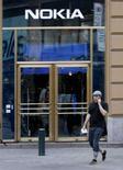 <p>La sede della Nokia, in Finlandia. REUTERS/Bob Strong (Finland)</p>