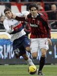 <p>Il brasiliano del Milan, Kakà. REUTERS/Alessandro Garofalo</p>