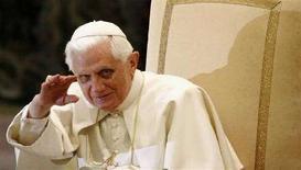 <p>Papa Benedetto XVI. REUTERS/Tony Gentile (VATICAN)</p>