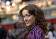 "<p>""L Word"" star Jennifer Beals arrives for the premiere of ""The Grudge 2"" held at Knott's Scary Farm in Buena Park, California, October 8, 2006. REUTERS/Phil McCarten</p>"