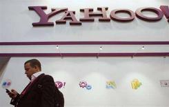 <p>Microsoft non affretterà fusione con Yahoo - stampa. REUTERS/Albert Gea</p>