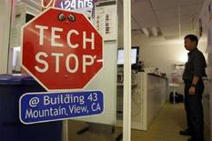 <p>Un'immagine della sede Google a Mountain View. REUTERS/Erin Siegal (UNITED STATES)</p>
