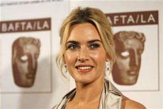 <p>Actress and honoree Kate Winslet poses at the 16th annual BAFTA/LA Cunard Britannia awards in Los Angeles November 1, 2007. REUTERS/Mario Anzuoni</p>