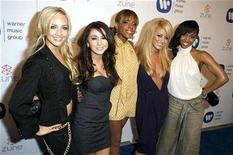 <p>Music group Danity Kane arrives at the Warner Music Group Grammy after-party in Los Angeles February 11, 2007. REUTERS/Max Morse</p>