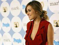 <p>Actress Lauren Conrad poses at 50th annual Grammy Awards kick-off party in Hollywood, California on December 6, 2007. REUTERS/Mario Anzuoni</p>
