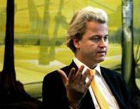 <p>Il politico conservatore olandese Geert Wilders. REUTERS</p>