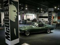 "<p>A view of an exhibition entitled ""Steve McQueen The Legend and the Cars"" in a file photo. Clothing company Belstaff has hit back at Steve McQueen's heirs with a damages claim against them over use of the film star's Trailmaster black biker jacket. REUTERS/Fred Prouser</p>"