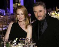 <p>Marg Helgenberger (L) and William Petersen from the cast of CSI sit together at the 14th annual Screen Actors Guild Awards in Los Angeles January 27, 2008. REUTERS/Danny Moloshok</p>