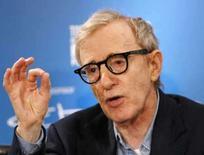 <p>O diretor norte-americano Woody Allen durante entrevista coletiva, em imagem de arquivo. Allen processou a American Apparel na segunda-feira, dizendo que a marca de roupas usou sua imagem sem autorização em anúncios, outdoors e na Internet. Photo by Mario Anzuoni</p>