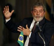 <p>O presidente Luiz Inácio Lula da Silva fala durante conferência em Recife, na u'tima quinta-feira. Lula reconheceu nesta terça-feira que a crise na economia norte-americana poderá afetar o Brasil caso se transforme numa recessão prolongada. Photo by Jamil Bittar</p>