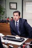 "<p>Actor Steve Carrell is shown in a scene from NBC's ""The Office"" in this publicity photo released to Reuters April 2, 2008. NBC will launch a spin-off of the popular workplace comedy following the broadcast of the National Football League's Super Bowl championship next January, the network said during their upfront event in New York April 2, 2008. REUTERS/Chris Haston/NBC/Handout</p>"