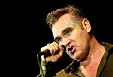<p>Singer Morrissey, former frontman of The Smiths, performs at a concert in Zagreb, Croatia, July 6, 2006. REUTERS/Nikola Solic</p>