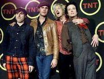 "<p>""Stone Temple Pilots"" pose backstage at the ""Come Together: A Night For John Lennon's Words & Music"" concert at Radio City Music Hall in New York, October 2, 2001. REUTERS/Jeff Christensen</p>"